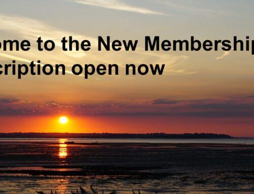 New Membership Year